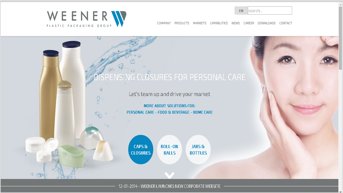 New Weener website